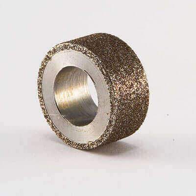 Borazon electroplated small wheel