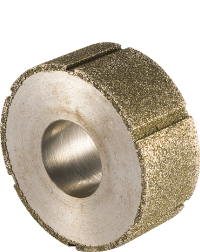 Diamond electroplated grinding wheel