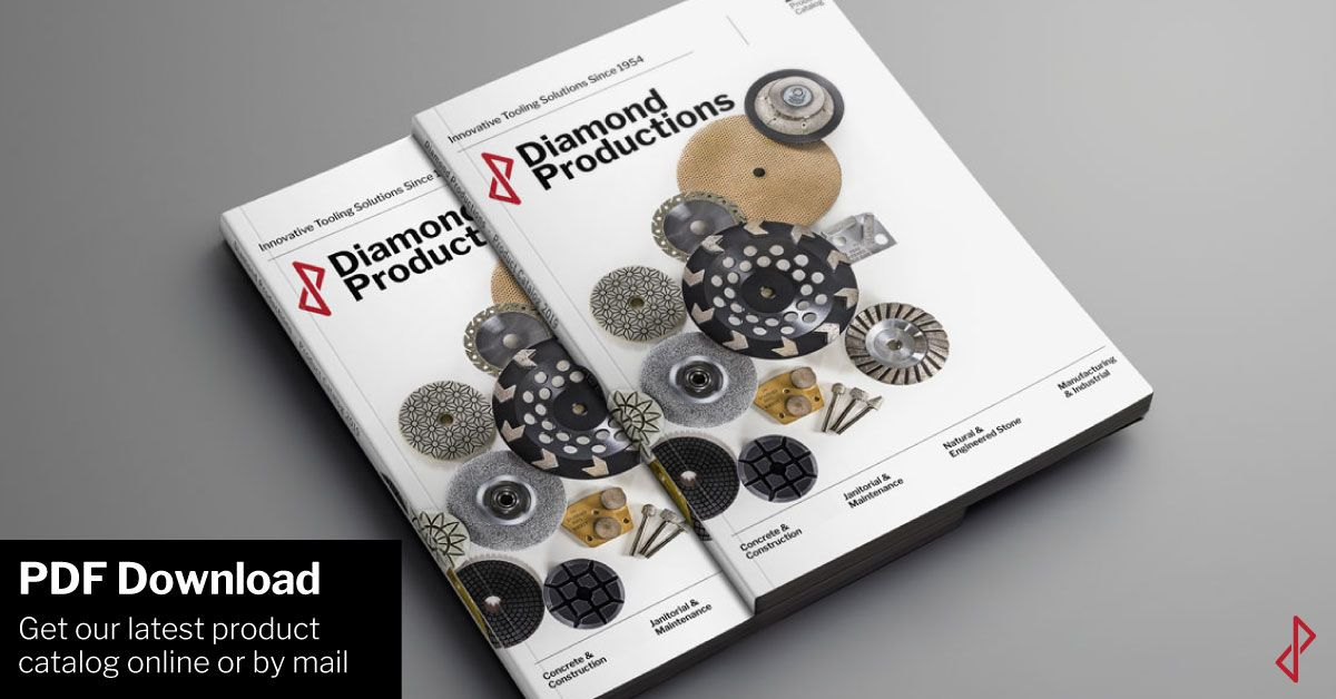 Diamond Tooling Catalog & Brochures | Diamond Productions