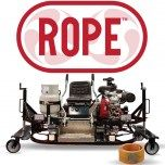 ROPE Ride on Polishing Equipment for concrete floors