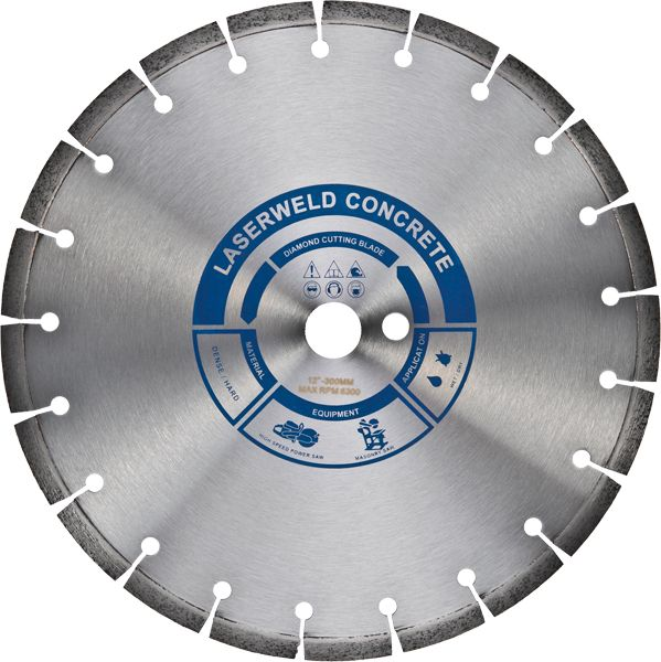 Laserweld Concrete Diamond Cutting Blade