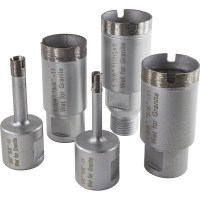 Diamond sintered thin wall core drill bit