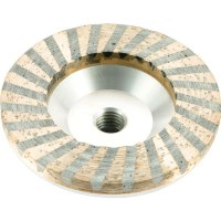 Aluminum Turbo Resin Filled Cupwheel