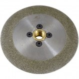 Diamond electroplated full face grinding disc front